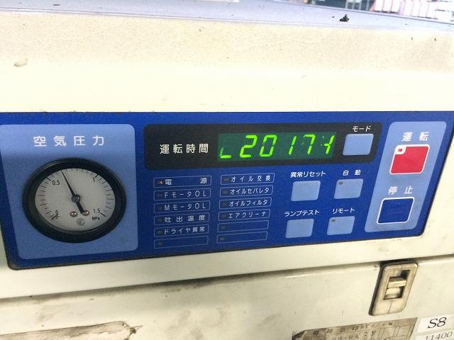 中古スクリュ三井Z226AS-R 22kw