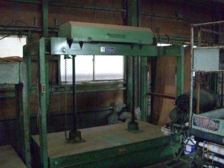 中古プレス高木金属4x8