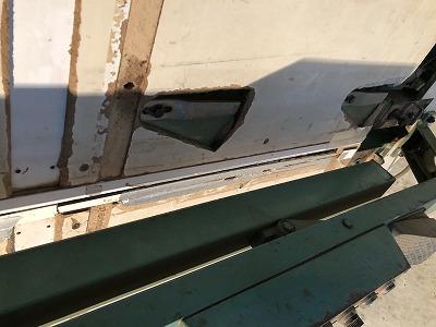 中古パネルソー市川8尺下ベタ垂直定規