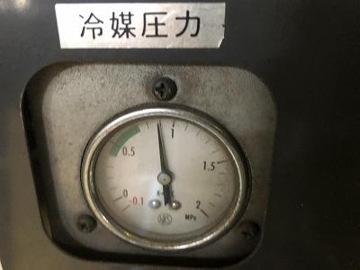 中古スクリューコンプレッサー日立7.5kw